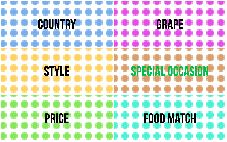 Borough Wines Corners app.